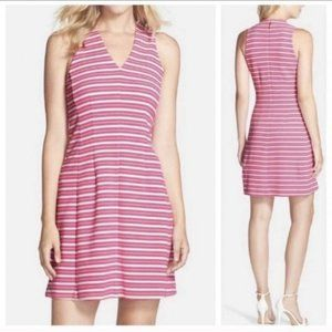 Lilly Pulitzer Brianna Ottoman Stripe Pink Dress